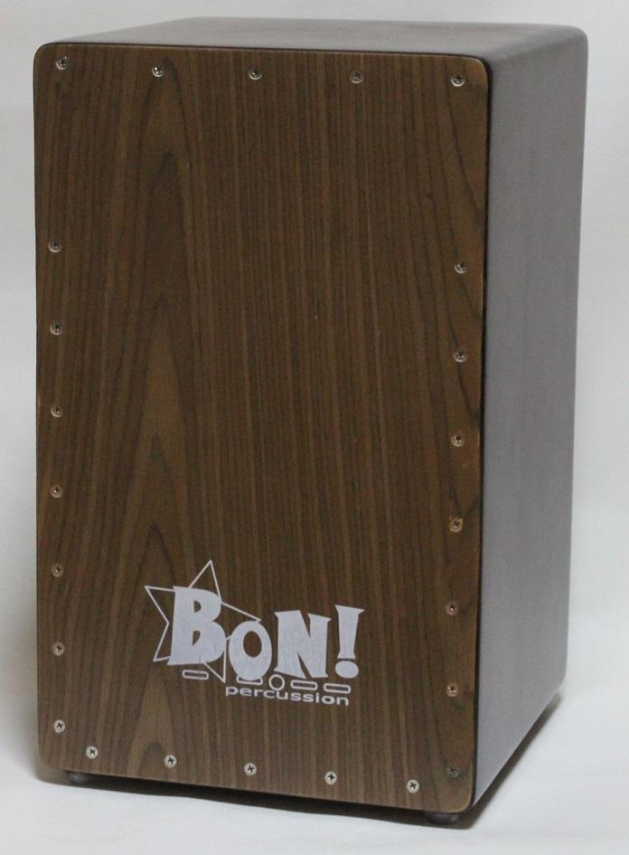 送料無料 ボン パーカッション カホン低音が抜群です 音重視の カホン 人気の製品 初心者はもちろん経験者におすすめ 音重視のカホン 有名な BCJ-10WN Percussion BON ベースポート搭載モデル ウォルナット