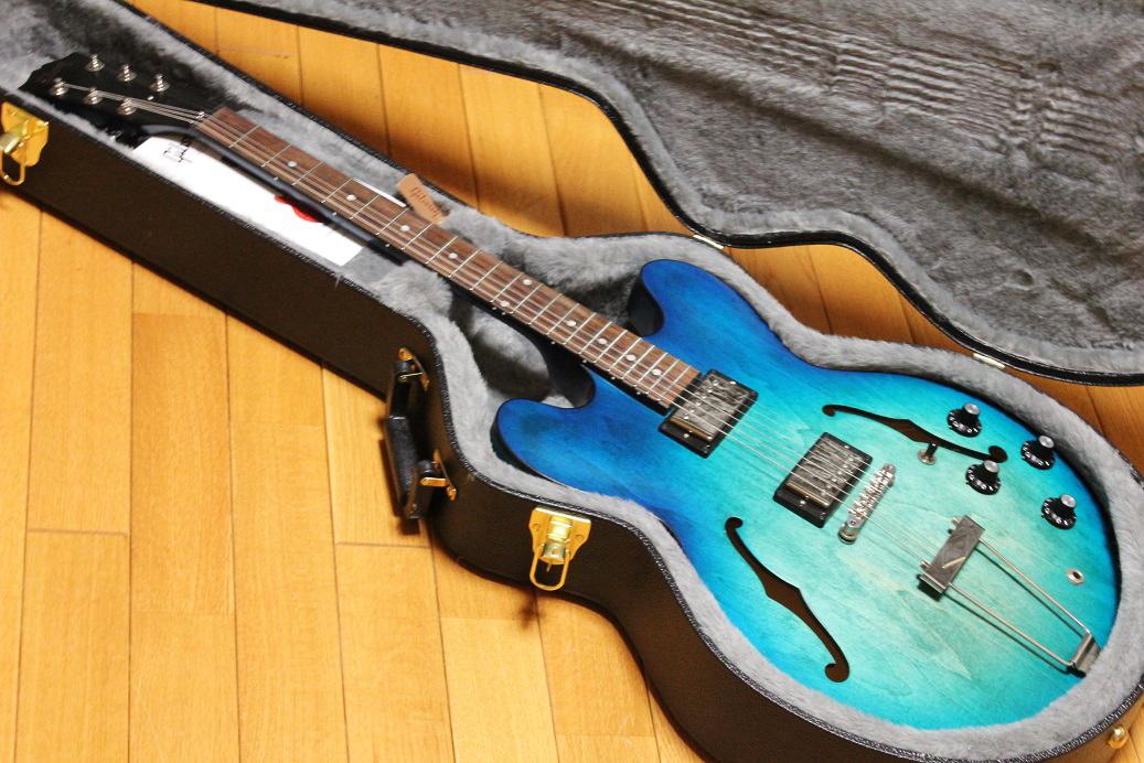 Gibson ES-330 Satin Aquamarine