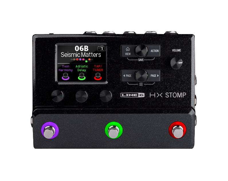 LINE6 HX STOMP OUTLET ライン6 プロフェッショナルギター/ベース プロセッサー 開封品アウトレット