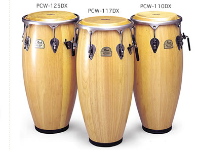 Pearl Elite Wood Congas PCW-125DX