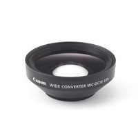 キヤノン用デジカメレンズ関連 ワイドコンバーター /Canon WC-DC10