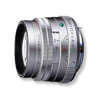 【送料無料】ペンタックス 望遠レンズ FA77mmF1.8 Limited シルバー
