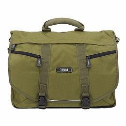 TENBA メッセンジャーバッグ(大サイズ) 品番638-232 オリーブ Large Messenger Bag