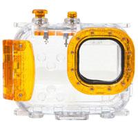 【送料無料】エツミ コンパクトカメラ用水中ハウジング Seashell SS-2 アンバーオレンジ