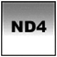 【送料無料】【メール便OK】コッキン 角型ハーフグラデーションフィルター Z121M ミディアムグレー2