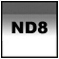 【メール便OK】コッキン 角型ハーフグラデーションフィルター P121S ソフトグレー2