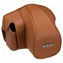 ニコン セミソフトケース CF-DC6 ブラウン/Nikon CF-DC6 ブラウン