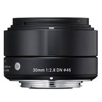 【送料無料】シグマ ミラーレス一眼カメラ専用レンズ30mm F2.8 DN ブラック [マイクロフォーサーズ用] JAN末番9695