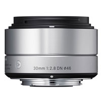 シグマ ミラーレス一眼カメラ専用レンズ30mm F2.8 DN シルバー [マイクロフォーサーズ用]