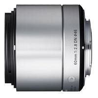 【送料無料】シグマ ミラーレス一眼カメラ専用レンズ 60mm F2.8 DN シルバー [マイクロフォーサーズ用] JAN末番9770