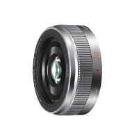 【送料無料】パナソニック LUMIX G 20mm/F1.7 II ASPH. H-H020A-S [シルバー]