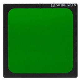 【メール便OK】LEE 100x100mm角ポリエステルフィルター 3色分解用フィルター 58G(グリーン) /LEE 3色分解用フィルター 58G