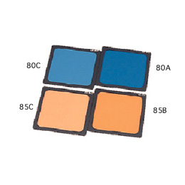 LEE 100x100mm角ポリエステルフィルターセット 色温度変換(強)セットP-1 /LEE 色温度変換(強)セットP-1