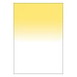 【メール便OK】LEE 100×150mm角 フォトグラフィック樹脂フィルター ハーフカラーグラデーション イエロー /LEE イエロー 389164