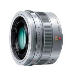 【送料無料】パナソニックLEICA DG SUMMILUX 15mm/F1.7 ASPH. H-X015-S [シルバー]