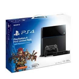 【送料無料】【即納】SONY プレイステーション4 HDD 500GB First Limited Pack with PlayStation Camera ジェット・ブラック CUHJ-10001 JAN末番8864