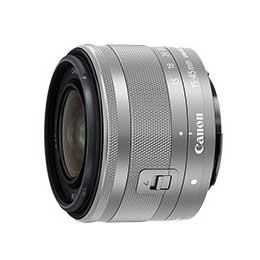 【送料無料】Canon EF-M15-45mm F3.5-6.3 IS STM [シルバー] JAN末番8507