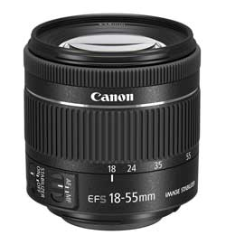 【送料無料】Canon EF-S18-55mm F4-5.6 IS STM JAN末番5199