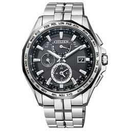 【送料無料】【即納】シチズン腕時計 アテッサ エコ・ドライブ電波時計 ダブルダイレクトフライト AT9096-57E