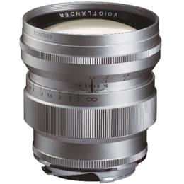 コシナ フォクトレンダー NOKTON vintage line 75mm F1.5 Aspherical VM [シルバー]
