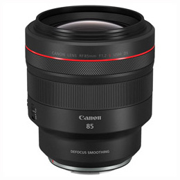 CANON RF85mm F1.2 L USM DS