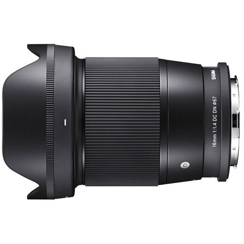 シグマ 16mm F1.4 DC DN [ライカL用] ※2020年7月10日発売予定