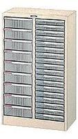 ナカバヤシ A4-27P フロアケ-ス 2列 書類ケース 書類棚