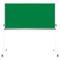【送料無料B】ナカバヤシ グリーンボード 黒板 両面回転脚付 ホ-GK-US36 1900*550*1860
