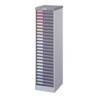 【送料無料B】ナカバヤシ メディシス・フロアタイプA4 書類棚 書類整理 H1200 MAF-201N グレー