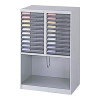 【送料無料B】ナカバヤシ メディシス・フロアタイプA4 書類棚 書類整理 H900 MAF-W111N グレー