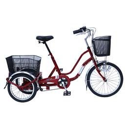 【送料無料】ミムゴ SWING CHARLIE911 ノーパンク三輪自転車E/20インチ MG-TRW20NE 【北海道・沖縄・離島配送不可】