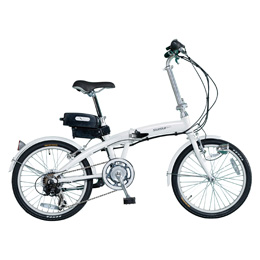 【送料無料】ミムゴ SUISUI 20インチ電動アシスト折畳自転車 6段変速 BM-A30WH 【北海道・沖縄・離島配送不可】