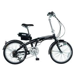 【送料無料】ミムゴ SUISUI 20インチ電動アシスト折畳自転車 6段変速 BM-A30BK 【北海道・沖縄・離島配送不可】