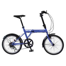【送料無料】ミムゴ ACTIVEPLUS911 ノーパンクFDB206SF /  ノーパンク20インチ折畳自転車 6段ギア MG-G206NF-BL 【北海道・沖縄・離島配送不可】