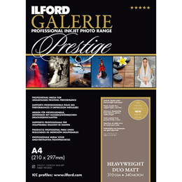 ILFORD GALERIE Prestige Heavyweight Duo Matt A3+ 50枚