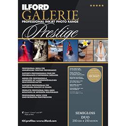 ILFORD GALERIE Prestige Semigloss Duo A4 100枚
