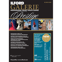 ILFORD Galerie Prestige Gold Cotton Smooth A3+ 25枚