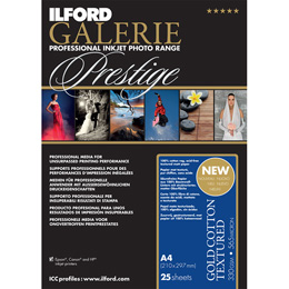 ILFORD Galerie Prestige Gold Cotton Textured A3+ 25枚