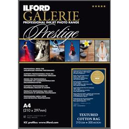 ILFORD GALERIE Prestige Textured Cotton Rag A3+ 25枚