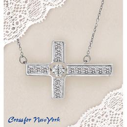 ダンシングストーン ネックレス クロスフォーニューヨーク 揺れる NYP-609 Cross Flower(ネックレス) 正規品メーカー保証付 ギフトラッピング ギフト プレゼント