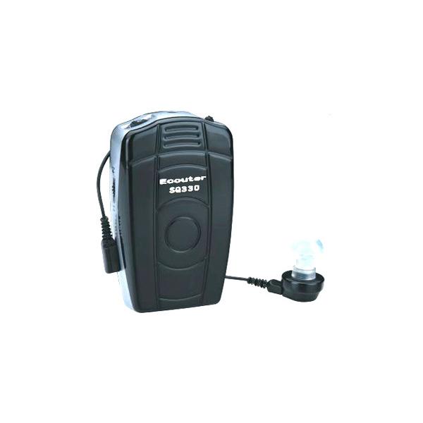 Tコイル付き集音器 65dB! SQ 330(軽度、中程度難聴者用)磁気ループ(ヒアリングループ)に有効