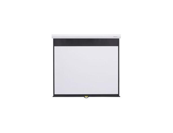 【代引き不可】 グランヴュー スプリングローラータイプ スクリーン 100型 KIKUCHI GSR-100W(NTSC)