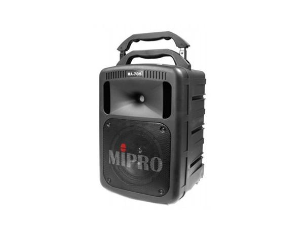 代引不可 プロ用 Mipro Bluetooth 機能 CDプレーヤー搭載可能!最大190W ポータブル PAシステム MA-708BPA(受信機1台装備)