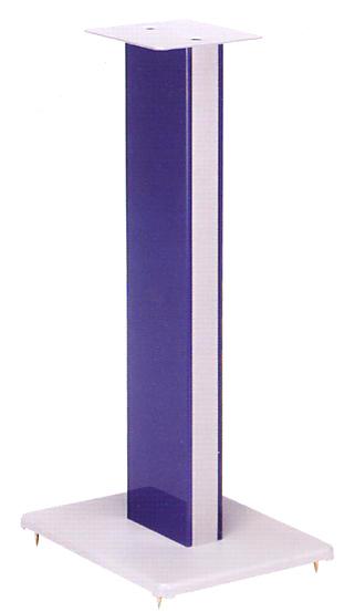 SUNDMAGIC サウンドマジック スピーカースタンド 高さ610mm RV24LGS 側板シルバーグレー色強化ガラス仕上/支柱、天板、底板シルバー仕上 安定 再生音