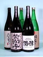 【誕生日】【ギフト】【お歳暮】小玉醸造 杜氏潤平ラインアップ 5本 1.8L