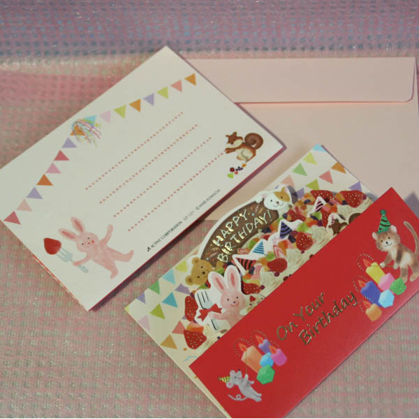 Arancia Mica Male The Popup Birthday Card Big Birthday Cake Of The