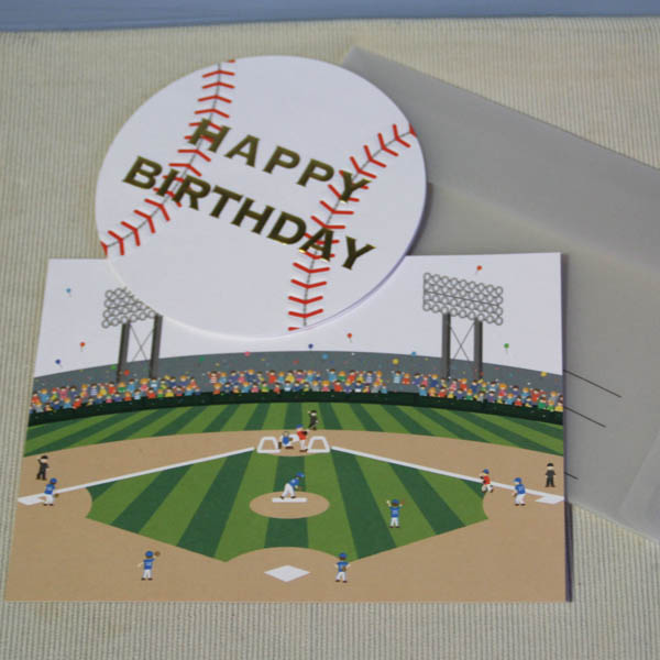 ARANCIA mica male Rakuten Global Market Birthday card baseball