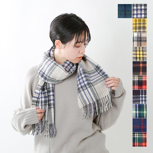 """【☆】【最大33倍】Scottish Tradition(スコティッシュ トラディション)アンゴラウ―ル ラモーラ チェックマフラー1""""WOVEN SCARF"""" woven-scarf-mm"""