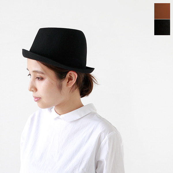 "mature ha. (マチュアーハ) 모직 프리 햇 ""widen free hat back stitch"" mfel-1109-rf"