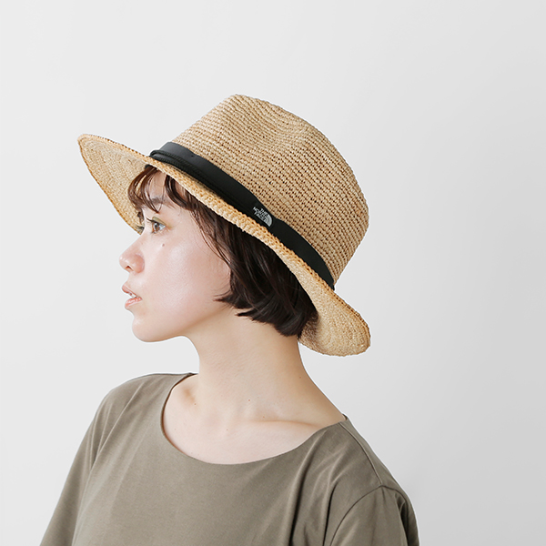 THE NORTH FACE (face) raffia Hat nn01554-ms